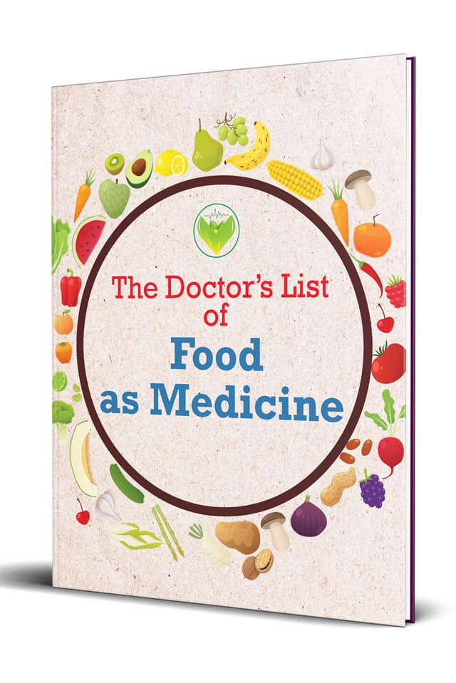 The Doctor's List of Food as Medicine Cover
